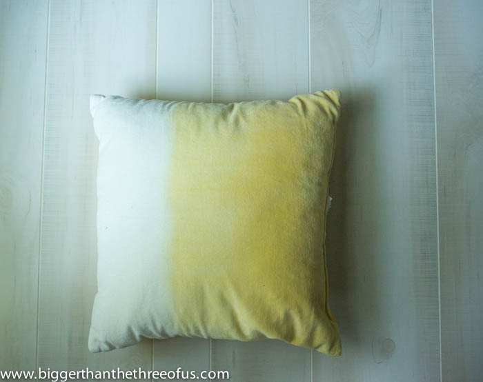 Old Throw Pillow to Use as stuffing for DIY Pillow