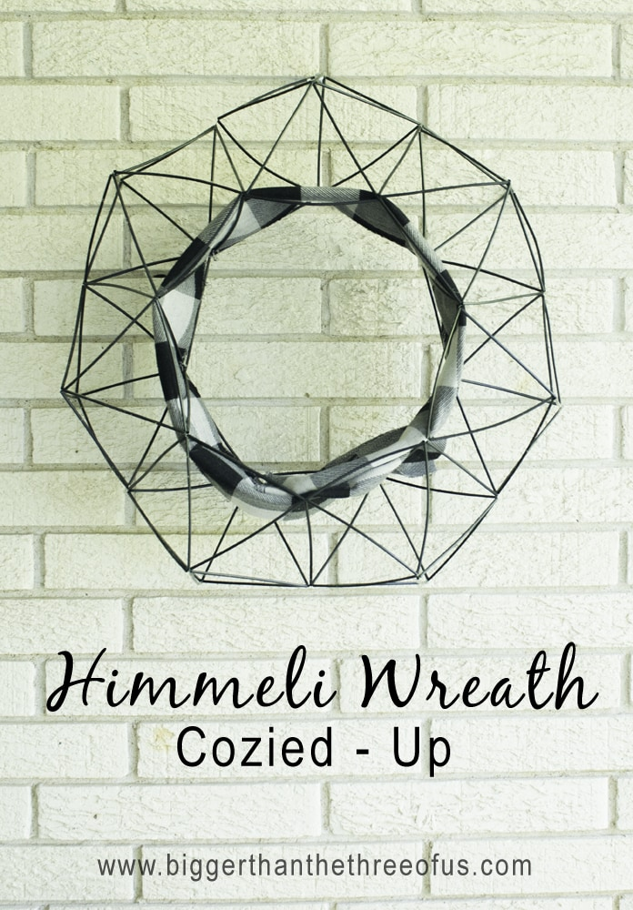 Fall Inspired Himmeli Wreath by Bigger Than The Three Of Us