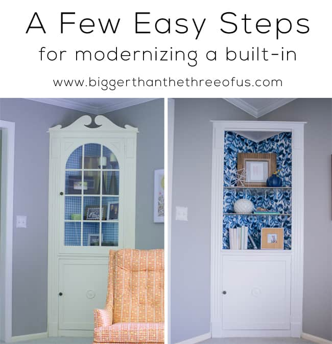Modernize a built-in with a few easy stesps