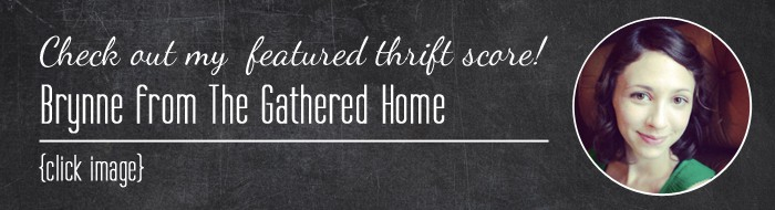 Thrift Score Thursday Brynne color