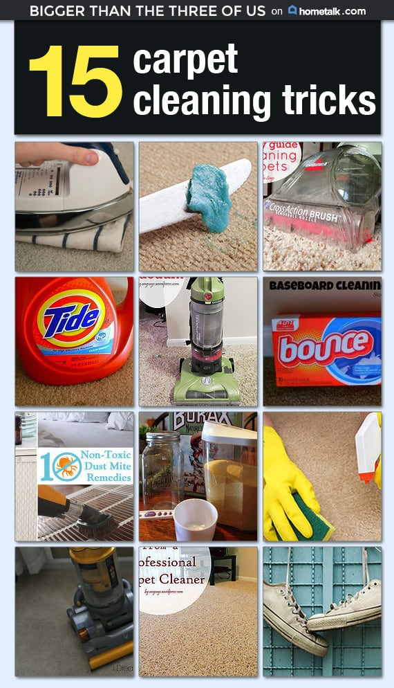 Carpet Cleaning Tricks