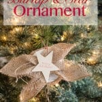 Burlap and Star Ornament DIY-1