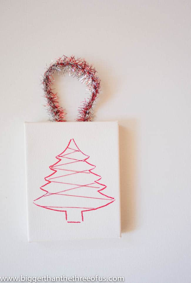 Canvas Tree Ornament Tutorial by Bigger Than The Three Of Us-7