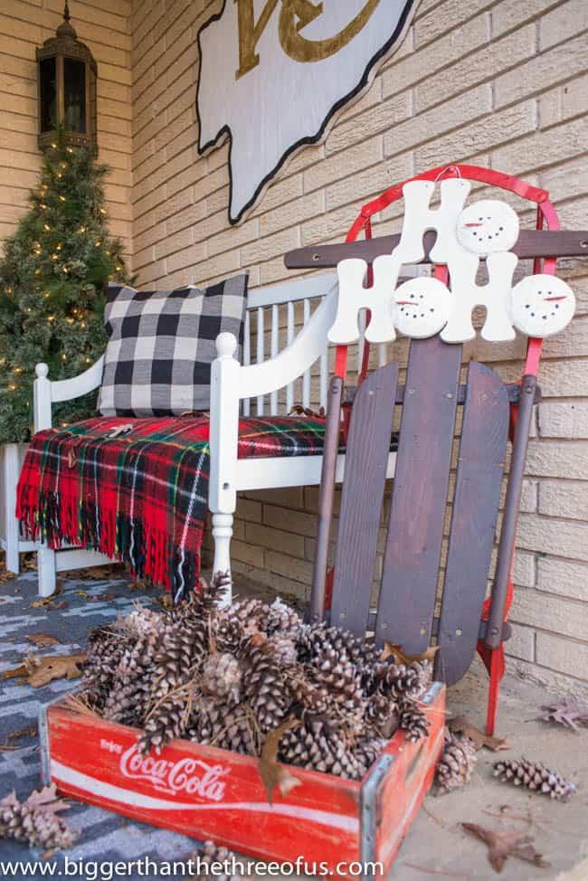 Christmas Decorating Outside