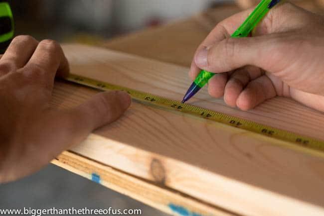 DIY Baseball Bat Growth Chart for Nursery-6