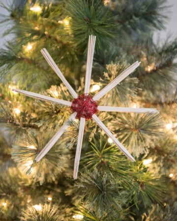 DIY Wire Star Ornament