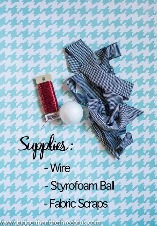 Ornament Tutorial for a Scrap Fabric Ball Ornament-1