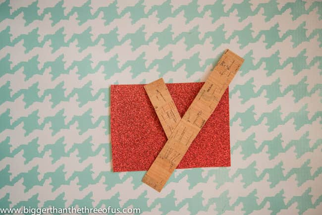 Scrapbook Paper Ornament with a Moose DIY by Bigger Than The Three Of Us-1