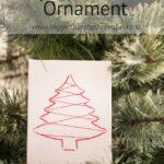 Simple Canvas Tree Ornament-1