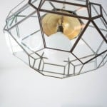 Upcycled Thrift Store Pendant Light for DIY Kitchen Remodel-9