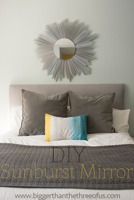 DIY Sunburst Mirror on the Cheap