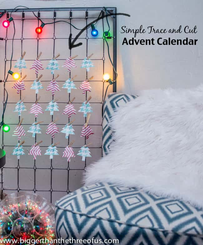 Easy and Free Advent Calendar DIY