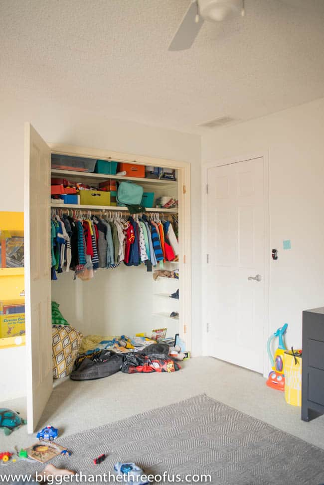 Toddler Room Closet Issue DIY -1