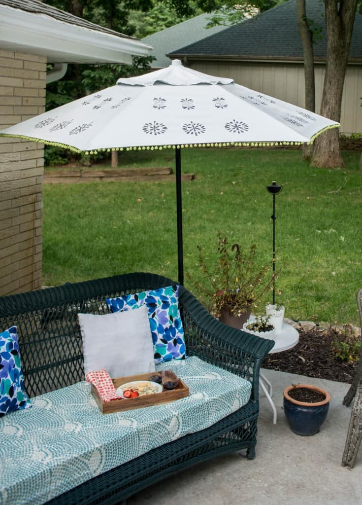 Patio Umbrella Refresh