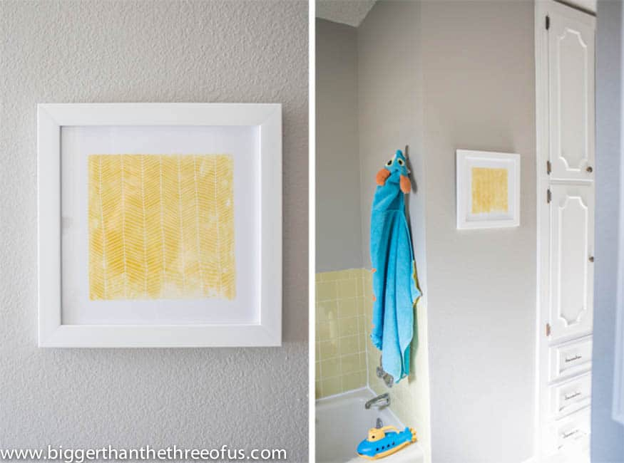 Minted Art as Bathroom Decor