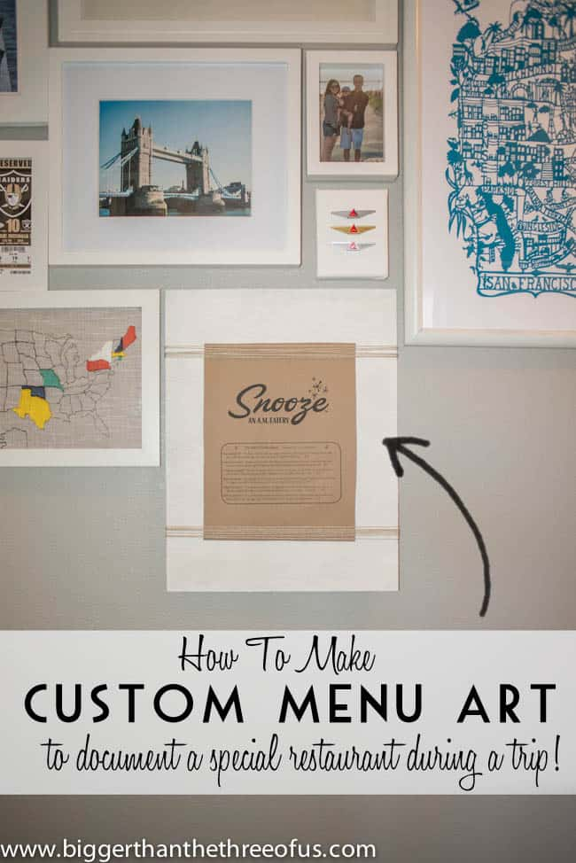 DIY Custom Travel Art for Gallery Wall (2 of 4)