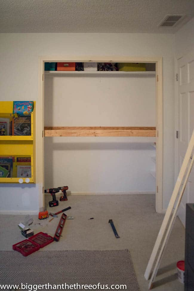 DIY Tutorial for Building a Kids Reading Nook