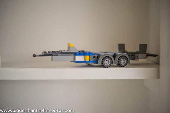 Lego Storage in Closet