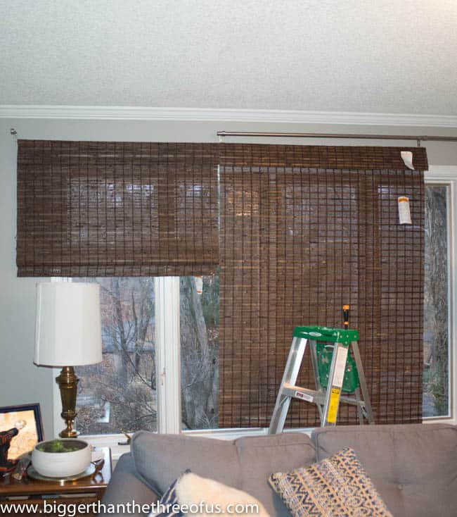 Cut your own bamboo blinds