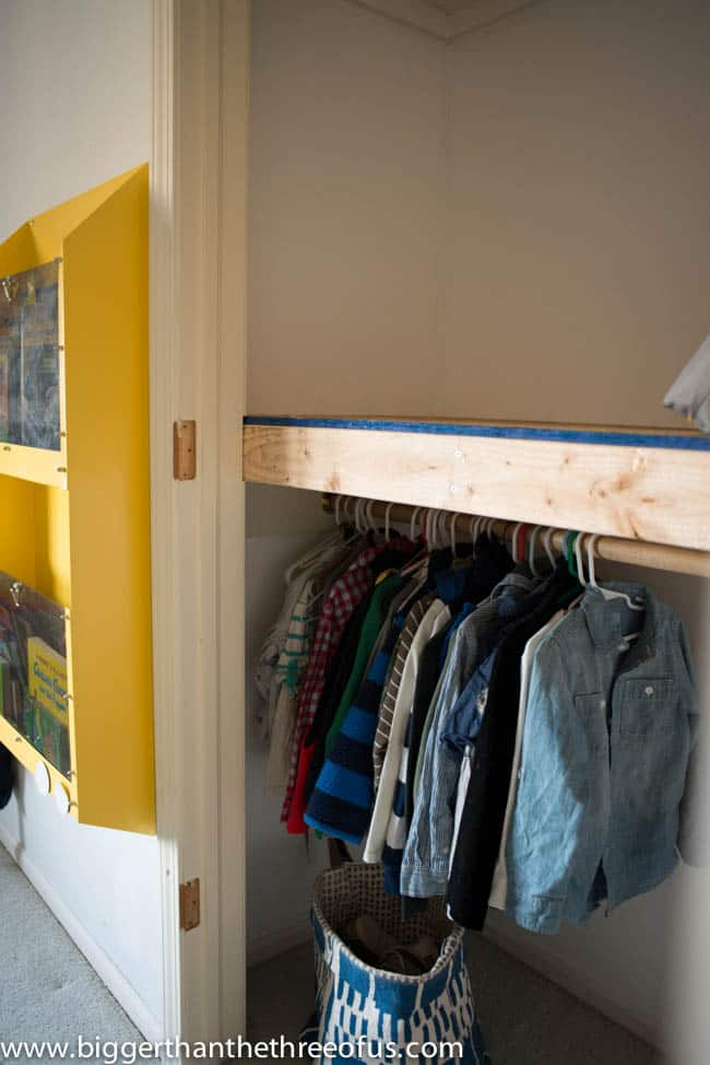 How to Build a Kids Closet Loft