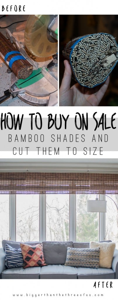 It's so easy to buy large shades and cut them to size. Save big money by learning how now!