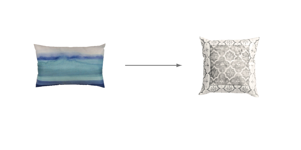 Move your pillows around to change up a room