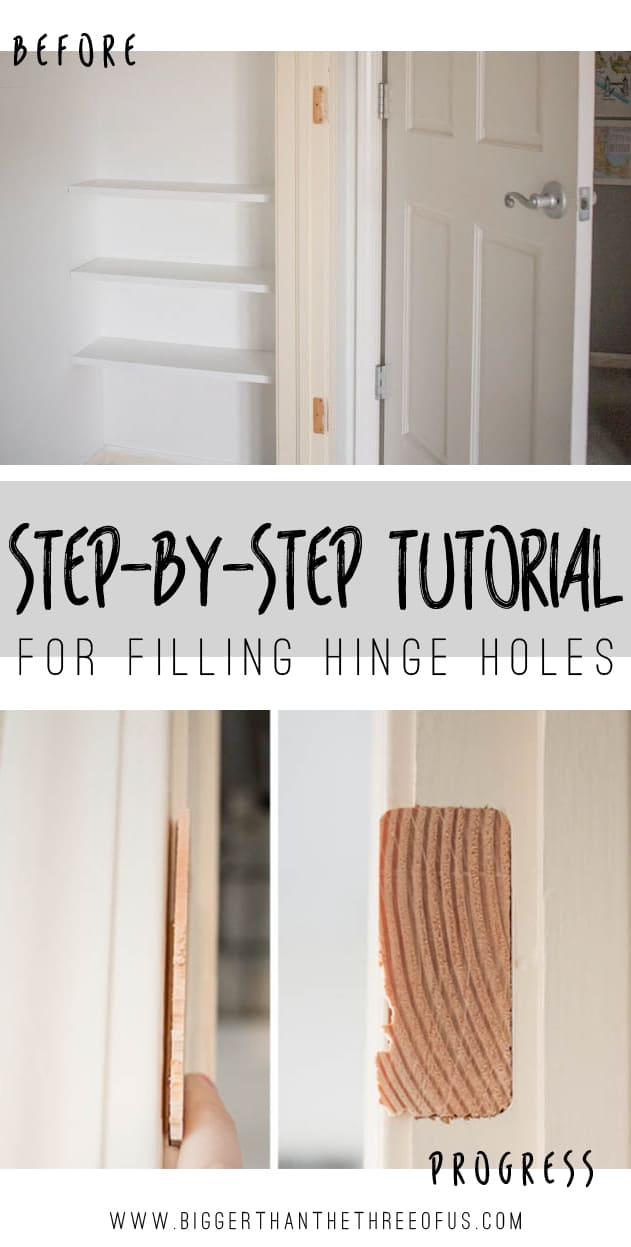 Quot How To Quot Fill Hinge Holes