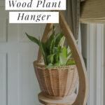 ceiling plant hanger DIY