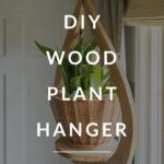 modern plant hanger DIY