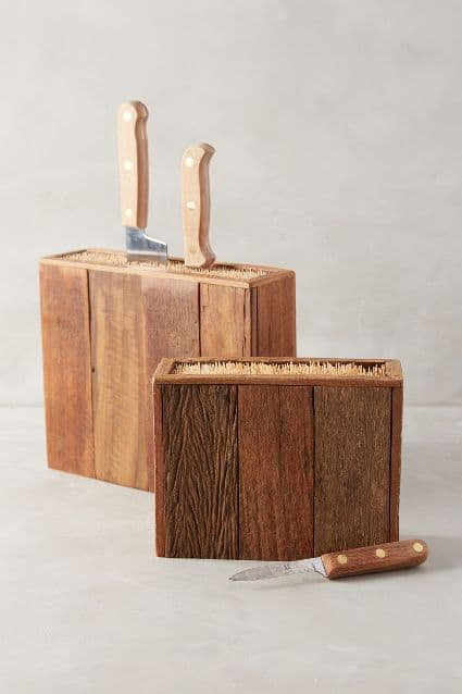 Knife Block Inspiration