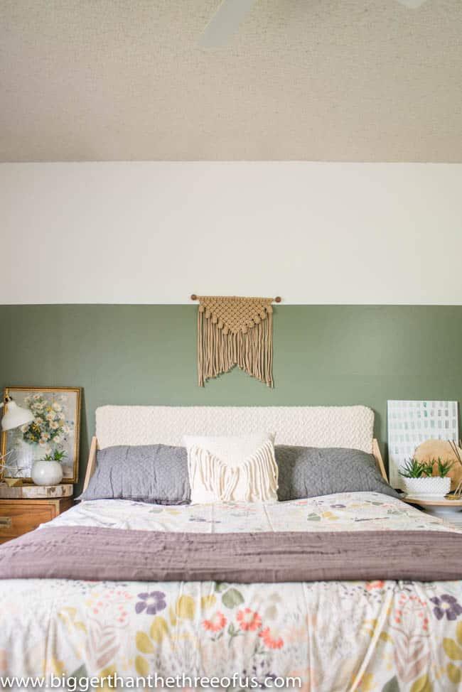 Eclectic Boho Guest Bedroom Remodel