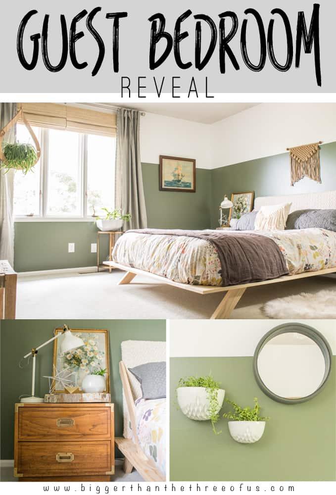 Modern Eclectic Guest Bedroom