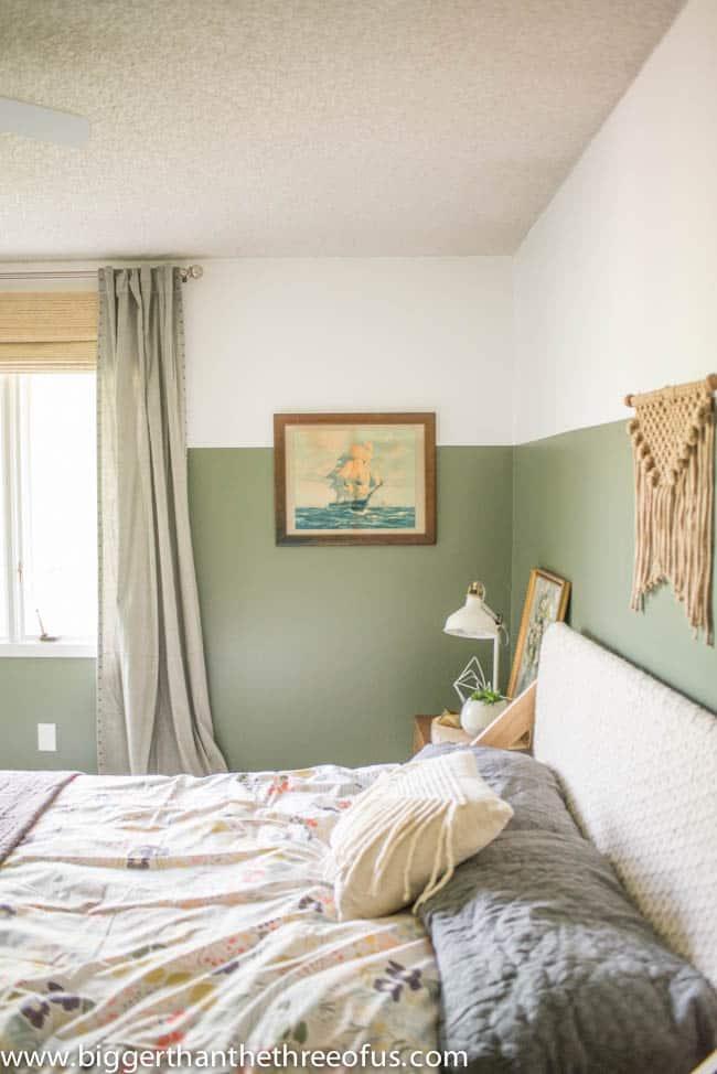 Boho Bedroom with lots of DIY Tutorials
