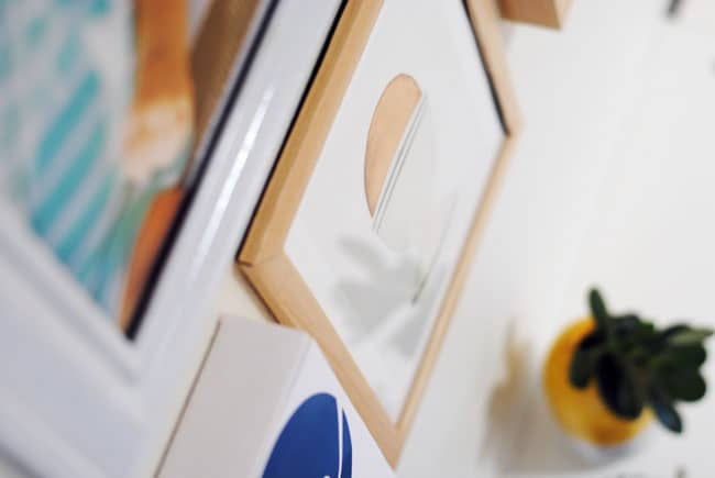 DIY Gallery Wall by Brave New Home