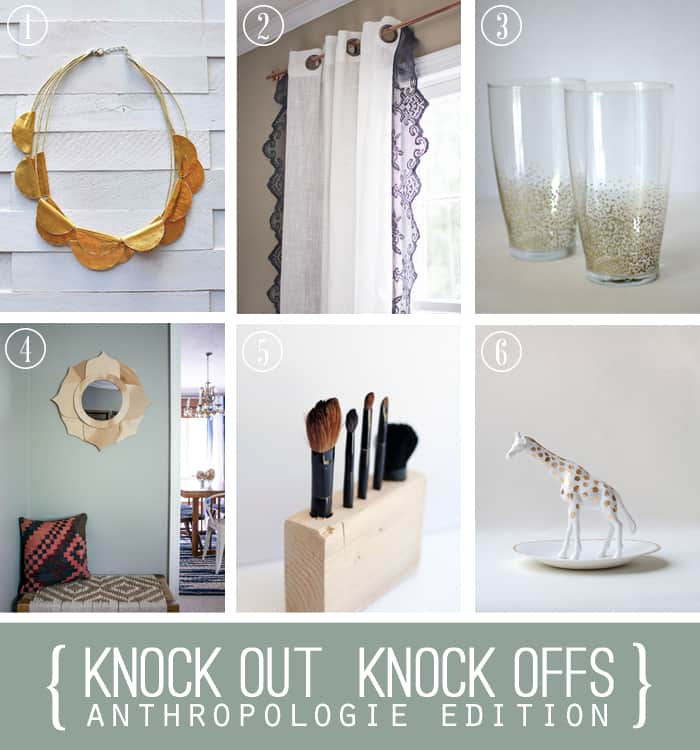 DIY Projects inspired by Anthro