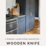 kitchen knife block