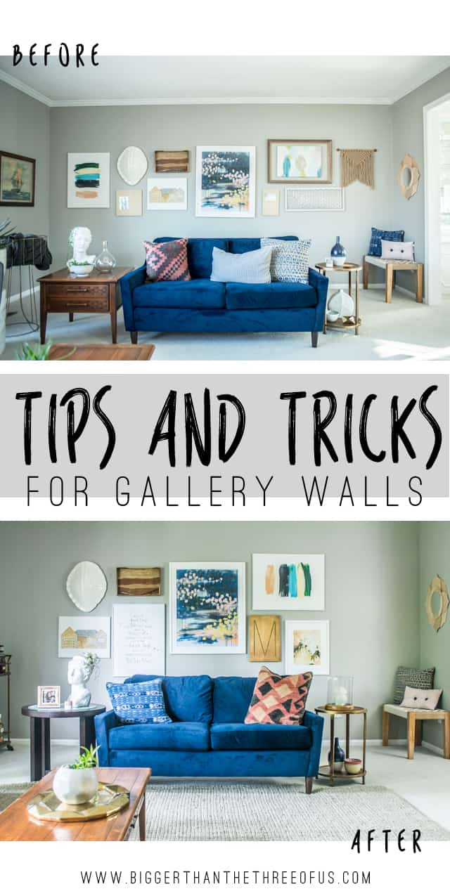 Living Room Gallery Wall Reveal