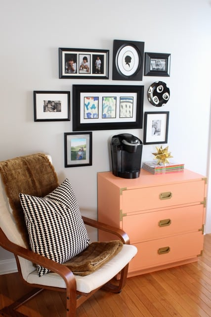 Gallery wall by Simple Stylings