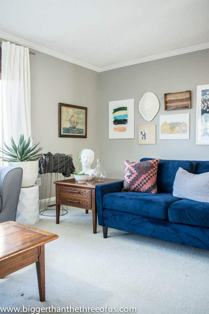 Design My Living Room Layout: Living Room Gallery Wall With Design Help