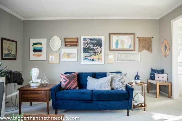 Living Room Gallery Wall Design Help-2