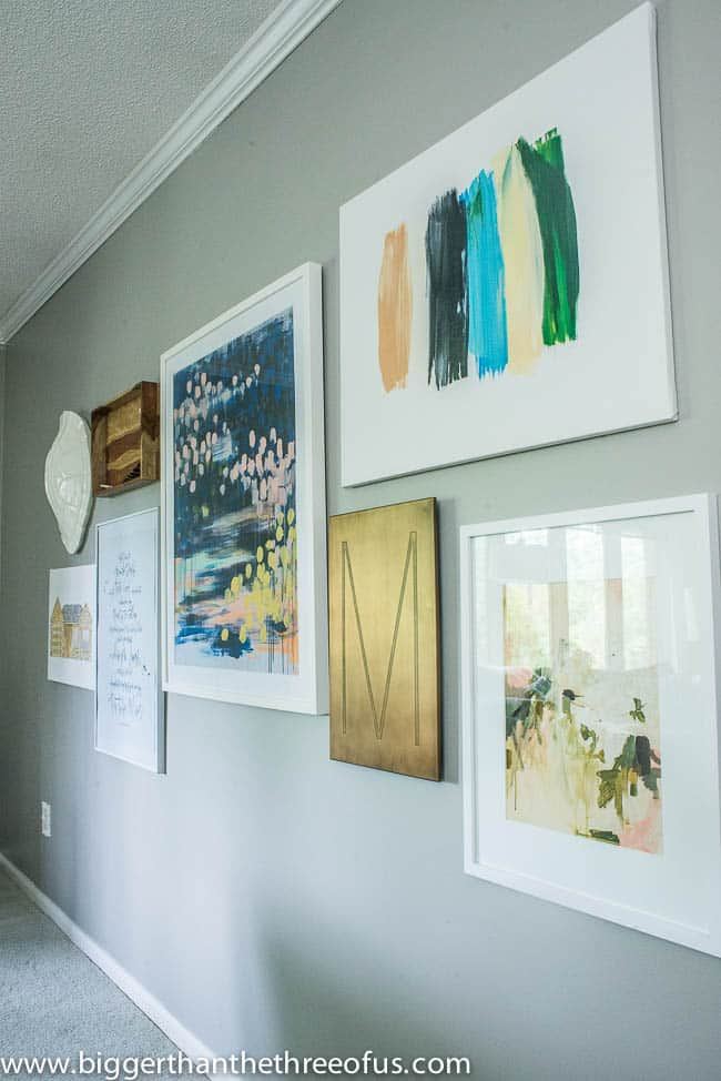 How to Make a Large Scale Gallery Wall