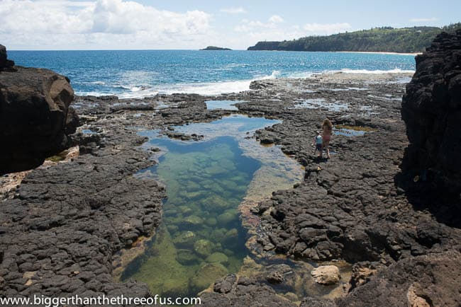 Secret Lava Pools Kauai