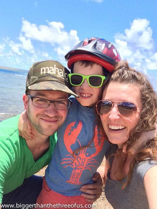 Renting bikes in Kauai