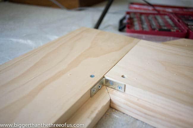 DIY Mid Century Inspired CB2 Bed-1-3