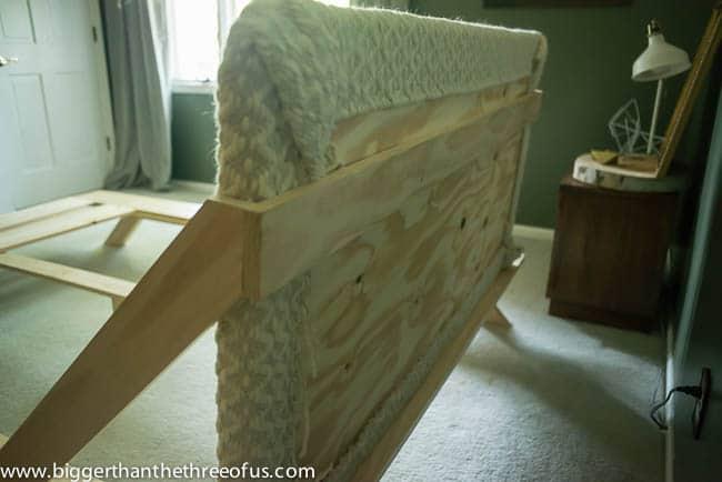 DIY Mid Century Inspired CB2 Bed-1-5