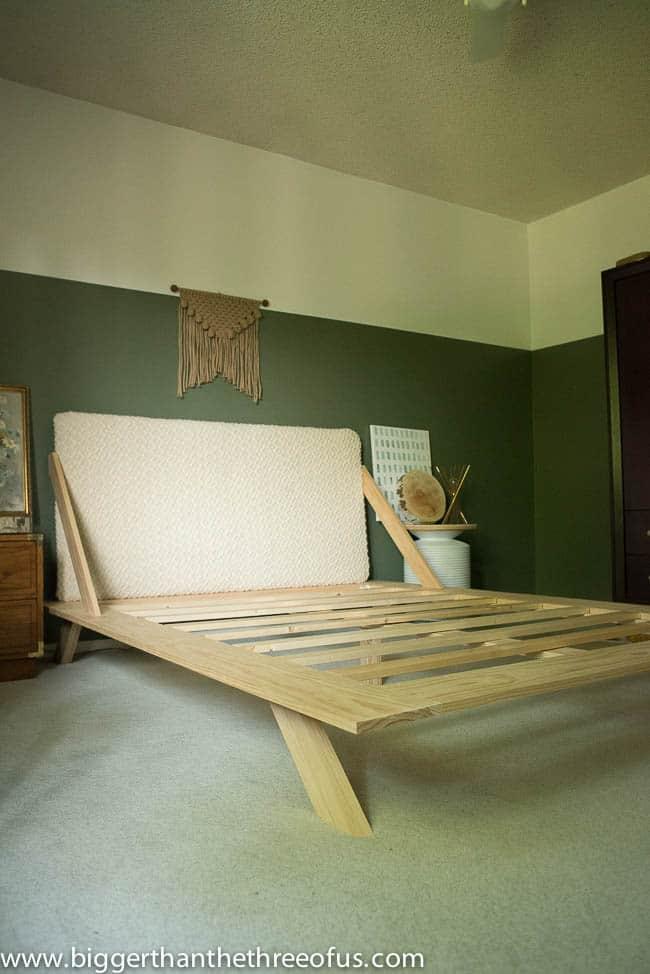 DIY Mid Century Inspired CB2 Bed-1-7