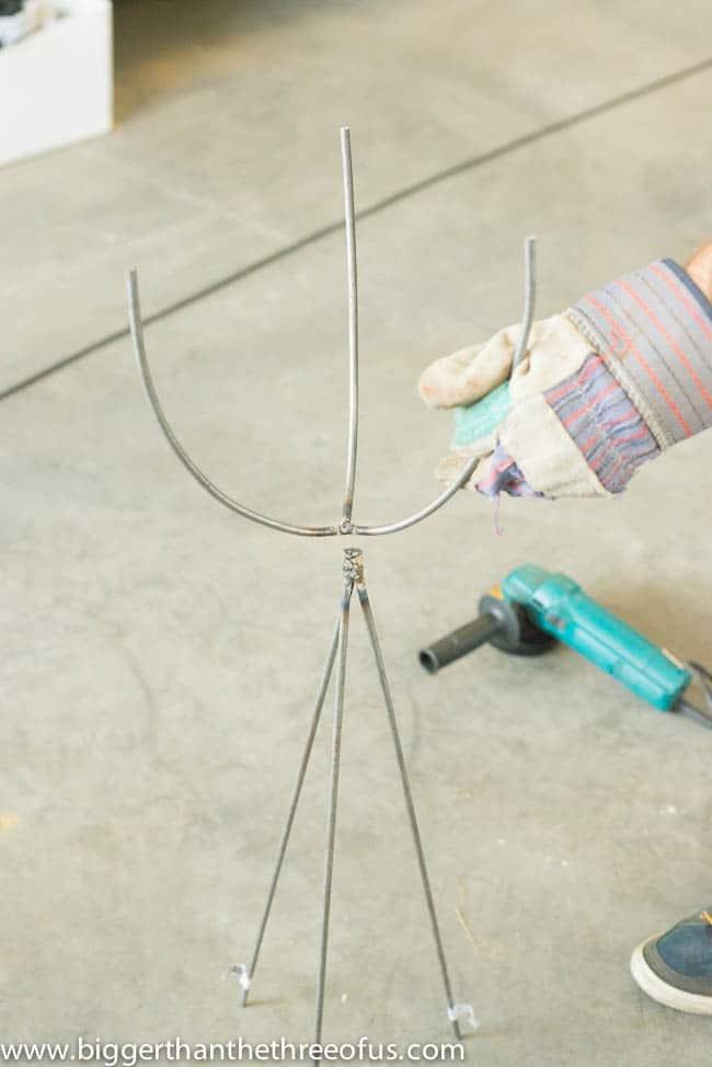 Make this Mid-Century Modern Bullet Planter