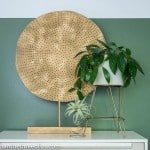 DIY Circle Art Inspired by Crate and Barrel