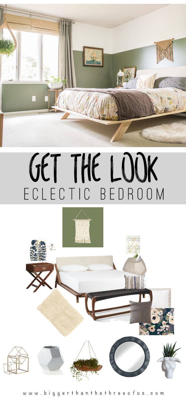 Get the Look of an Eclectic Bedroom