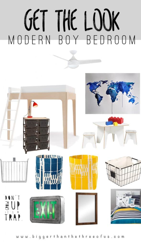 Is your style modern and bright? Use this guide to decorate for your little man's room!
